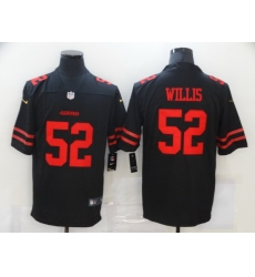 Nike San Francisco 49ers 52 Patrick Willis Black Vapor Untouchable Limited Jersey
