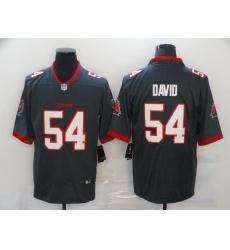 Men Tampa Bay Buccaneers Lavonte David 54 Nike Pewter Alternate Vapor Limited Jersey