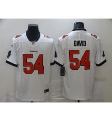 Men Tampa Bay Buccaneers Lavonte David 54 Nike White Vapor Limited Jersey