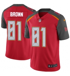 Nike Tampa Bay Buccaneers 81 Antonio Brown Red Team Color Men Stitched NFL Vapor Untouchable Limited Jersey