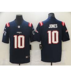 Nike New England Patriots 10 Mac Jones Navy 2021 Draft Vapor Limited Jersey
