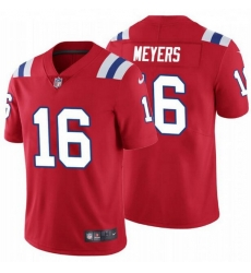 Nike New England Patriots 16 Jakobi Myers Red Vapor Untouchable Limited Jersey