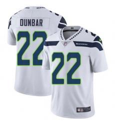 Nike Seahawks 22 Quinton Dunbar White Men Stitched NFL Vapor Untouchable Limited Jersey