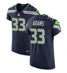 Nike Seahawks 33 Jamal Adams Steel Blue Team Color Men Stitched NFL Vapor Untouchable Elite Jersey