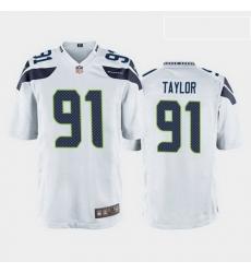 men darrell taylor seattle seahawks white game jersey