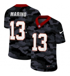 Miami Dolphins 13 Dan Marino Men Nike 2020 Black CAMO Vapor Untouchable Limited Stitched NFL Jersey