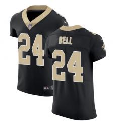 Nike New Orleans Saints 24 Vonn Bell Black Team Color Men Stitched NFL Vapor Untouchable Elite Jersey