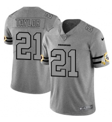 Nike Redskins 21 Sean Taylor 2019 Gray Gridiron Gray Vapor Untouchable Limited Jersey