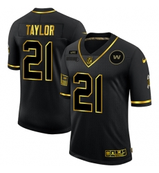 Nike Washington Football Team 21 Sean Taylor Black Gold Vapor Untouchable Limited Jersey