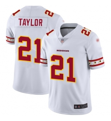 Redskins 21 Sean Taylor White Mens Stitched Football Limited Team Logo Fashion Jersey