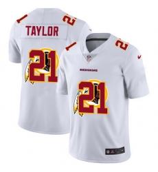 Washington Redskins 21 Sean Taylor White Men Nike Team Logo Dual Overlap Limited NFL Jersey