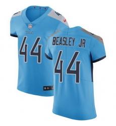 Nike Titans 44 Vic Beasley Jr Light Blue Alternate Men Stitched NFL New Elite Jersey