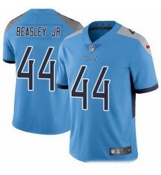 Nike Titans 44 Vic Beasley Jr Light Blue Alternate Men Stitched NFL Vapor Untouchable Limited Jersey