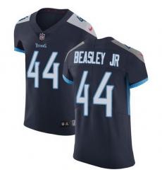 Nike Titans 44 Vic Beasley Jr Navy Blue Team Color Men Stitched NFL Vapor Untouchable Elite Jersey