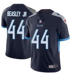 Nike Titans 44 Vic Beasley Jr Navy Blue Team Color Men Stitched NFL Vapor Untouchable Limited Jersey