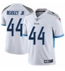Nike Titans 44 Vic Beasley Jr White Men Stitched NFL Vapor Untouchable Limited Jersey