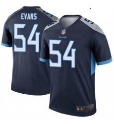 Youth Tennessee Titans 54 Rashaan Evans Legend Navy Limited Jersey