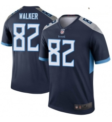 Youth Tennessee Titans 82 Delanie Walker Legend Navy Limited Jersey