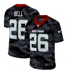 New York Jets 26 Le 27Veon Bell Men Nike 2020 Black CAMO Vapor Untouchable Limited Stitched NFL Jersey
