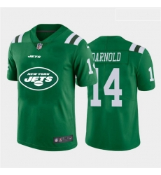 Nike Jets 14 Sam Darnold Green Team Big Logo Vapor Untouchable Limited Jersey