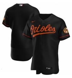 Men Baltimore Orioles Men Nike Black Alternate 2020 Flex Base Official Team MLB Jersey
