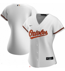 Baltimore Orioles Nike Women Home 2020 MLB Team Jersey White