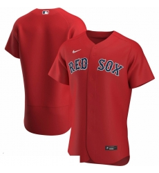 Men Boston Red Sox Men Nike Red Alternate 2020 Flex Base Official Team MLB Jersey