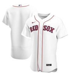 Men Boston Red Sox Men Nike White Home 2020 Flex Base Official Team MLB Jersey