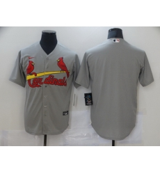 Men Nike St  Louis Arizona Cardinals grey Blank Coolbase Jersey
