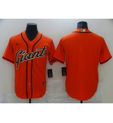 Men San Francisco New York Giants Blank Orange Game 2021 Nike MLB Jersey