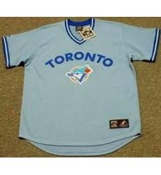 Men Toroto Blue Jays Blank Pullover MLB Stitched Jersey