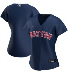 Boston Red Sox Nike Women Alternate 2020 MLB Team Jersey Navy