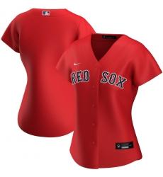 Boston Red Sox Nike Women Alternate 2020 MLB Team Jersey Red