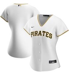 Pittsburgh Pirates Nike Women Home 2020 MLB Team Jersey White