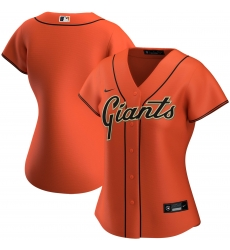 San Francisco New York Giants Nike Women Alternate 2020 MLB Team Jersey Orange