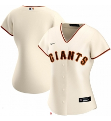 San Francisco New York Giants Nike Women Home 2020 MLB Team Jersey Cream