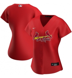 St  Louis St.Louis Cardinals Nike Women Alternate 2020 MLB Team Jersey Red