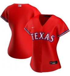 Texas New York Rangers Nike Women Alternate 2020 MLB Team Jersey Red