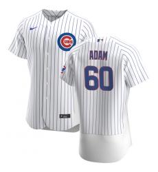 Men Chicago Cubs 60 Jason Adam Men Nike White Home 2020 Flex Base Player Jersey