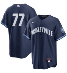 Men's 77 Neighborhood Chicago Cubs Wrigleyville City Connect Jersey