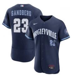 Men's Ryne Sandberg Chicago Cubs 2021 City Connect Wrigleyville Jersey