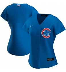 Chicago Cubs Nike Women Alternate 2020 MLB Team Jersey Royal