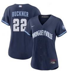 Womens Bill Buckner Chicago Cubs 2021 City Connect Wrigleyville Jersey
