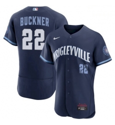 Youth Bill Buckner Chicago Cubs 2021 City Connect Wrigleyville Jersey