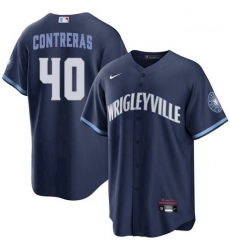 Youth Willson Contreras Chicago Cubs Wrigleyville City Connect Jersey
