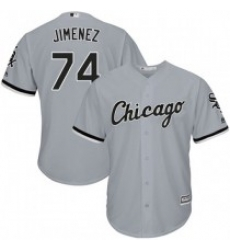 Men Chicago Gray Sox #74 Eloy Jimenez Cool Base Stitched MLB jersey