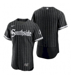 Men's Chicago White Sox Southside 2021 City Connect Blank Jersey