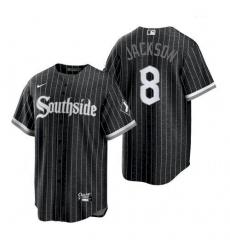 Men's Chicago White Sox Southside Bo Jackson Black 2021 Authentic Jersey