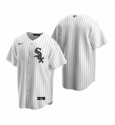 Mens Nike Chicago White Sox Blank White Home Stitched Baseball Jersey