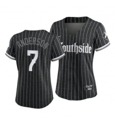 Women Chicago White Sox Southside Tim Anderson 2021 City Connect Jersey